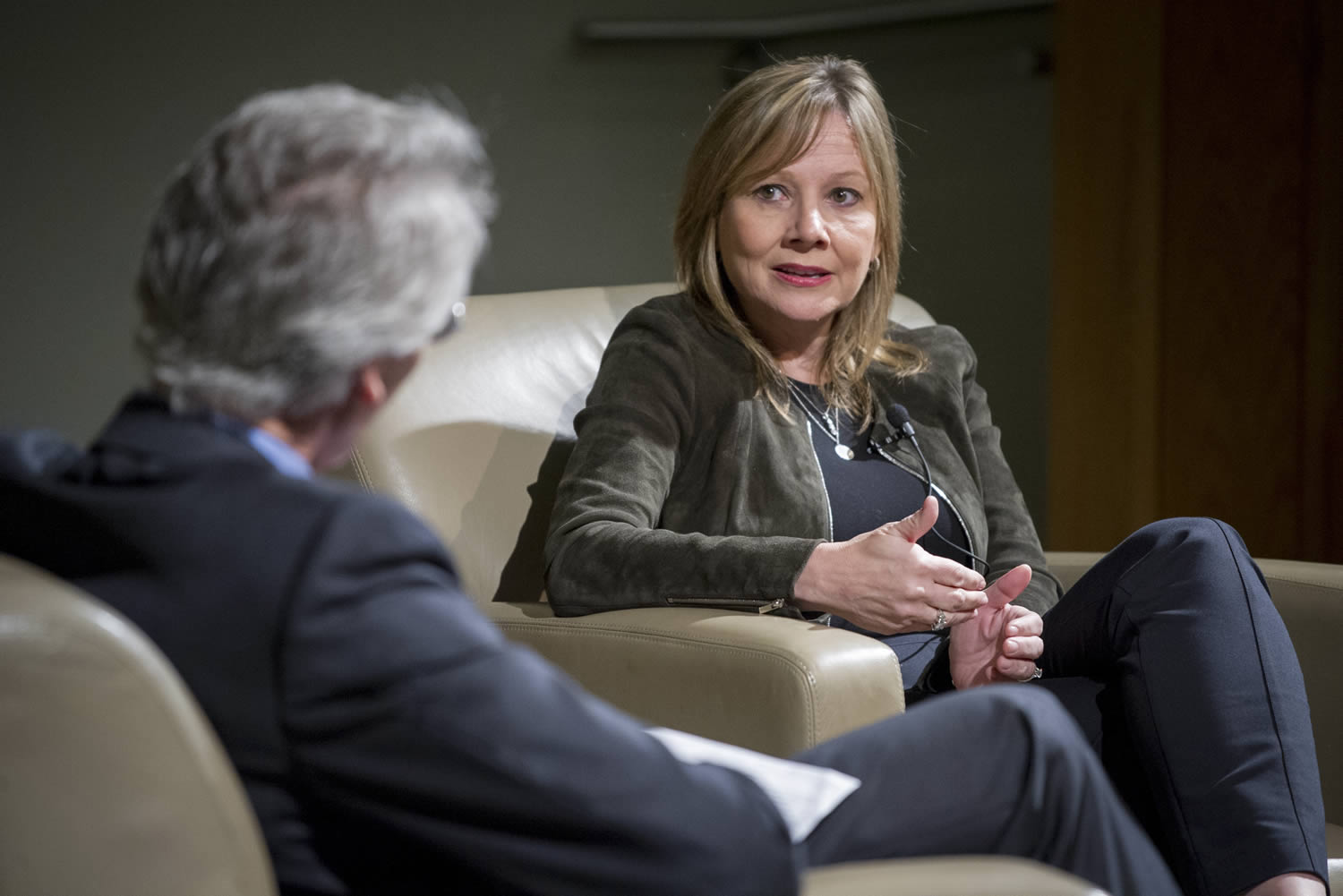 Mary Barra at Fuqua's Distinguished Speaker Series