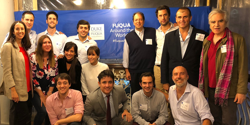 Fuqua Around the World attendees