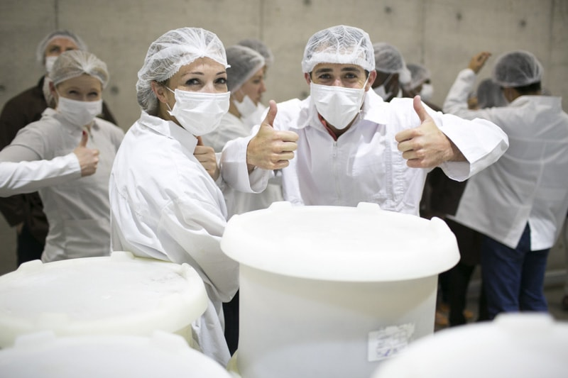 Visiting the largest commercial bakery in Chile
