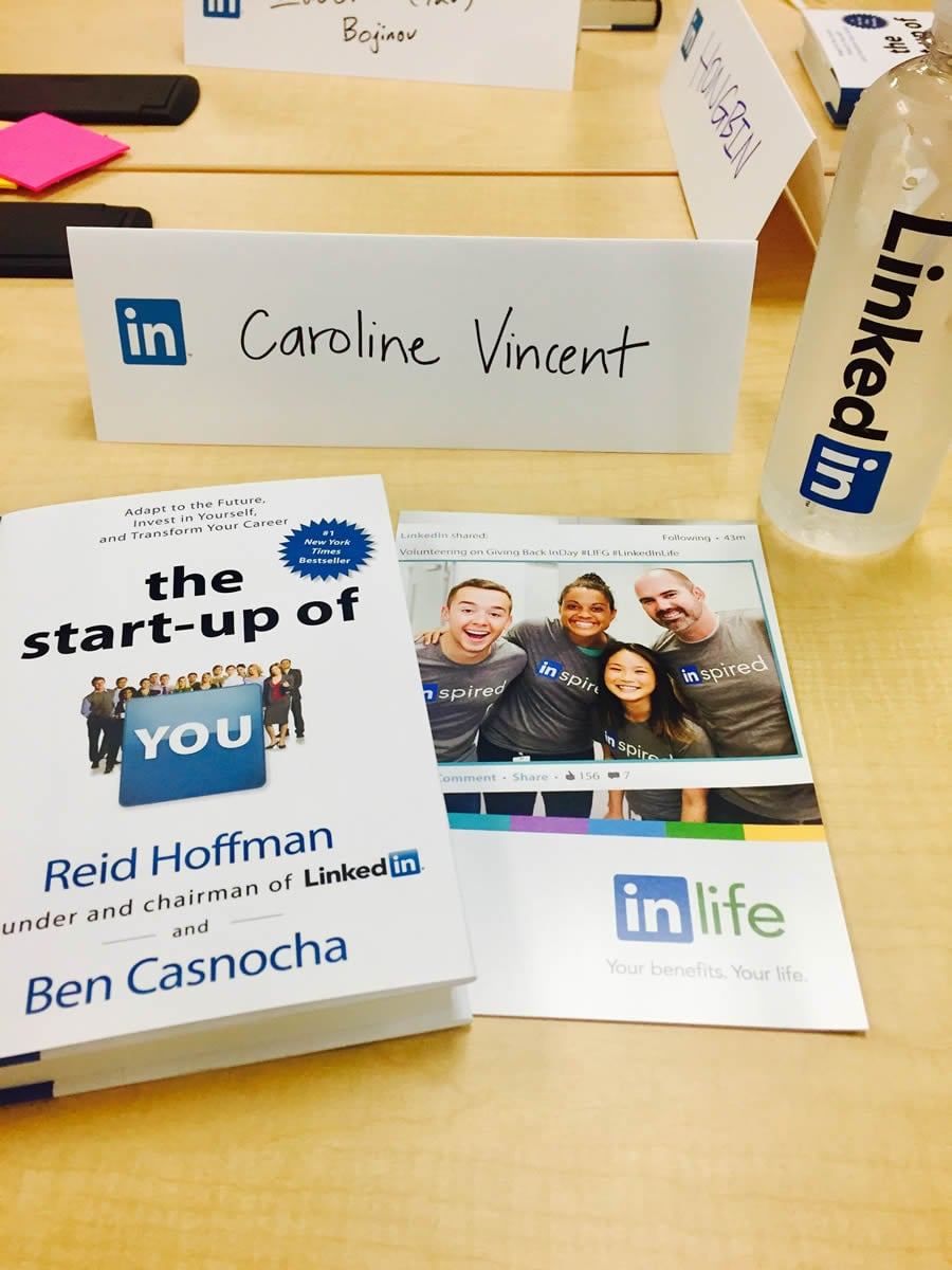 MBA student describes her internship at LinkedIn