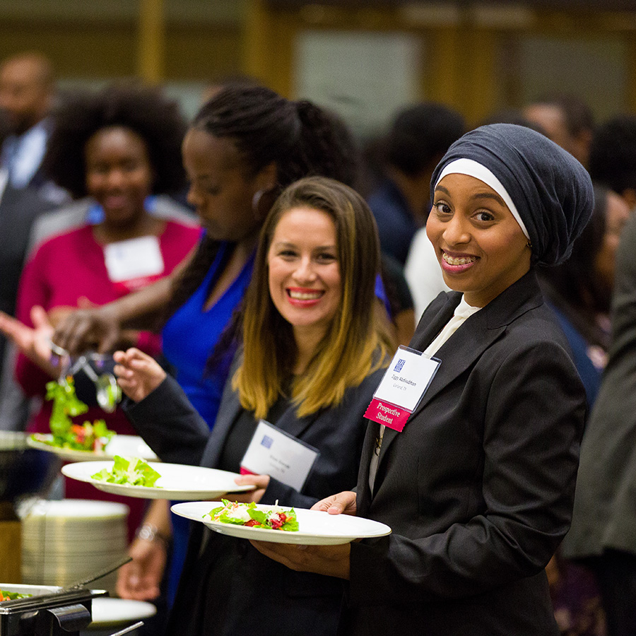 Women at Fuqua's Underrepresented Minorities Weekend
