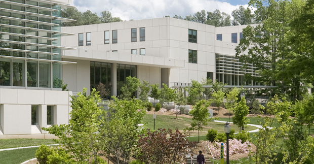 The Fuqua School of Business campus