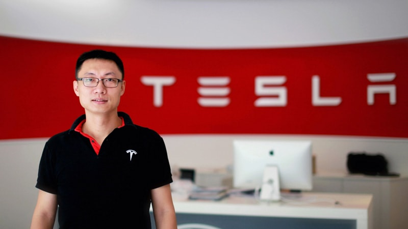 Tom Zhu at Tesla Motors in China