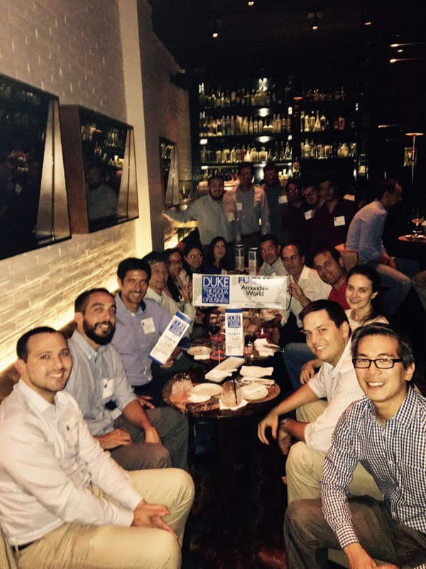 Alumni celebrate Fuqua Around the World in Peru
