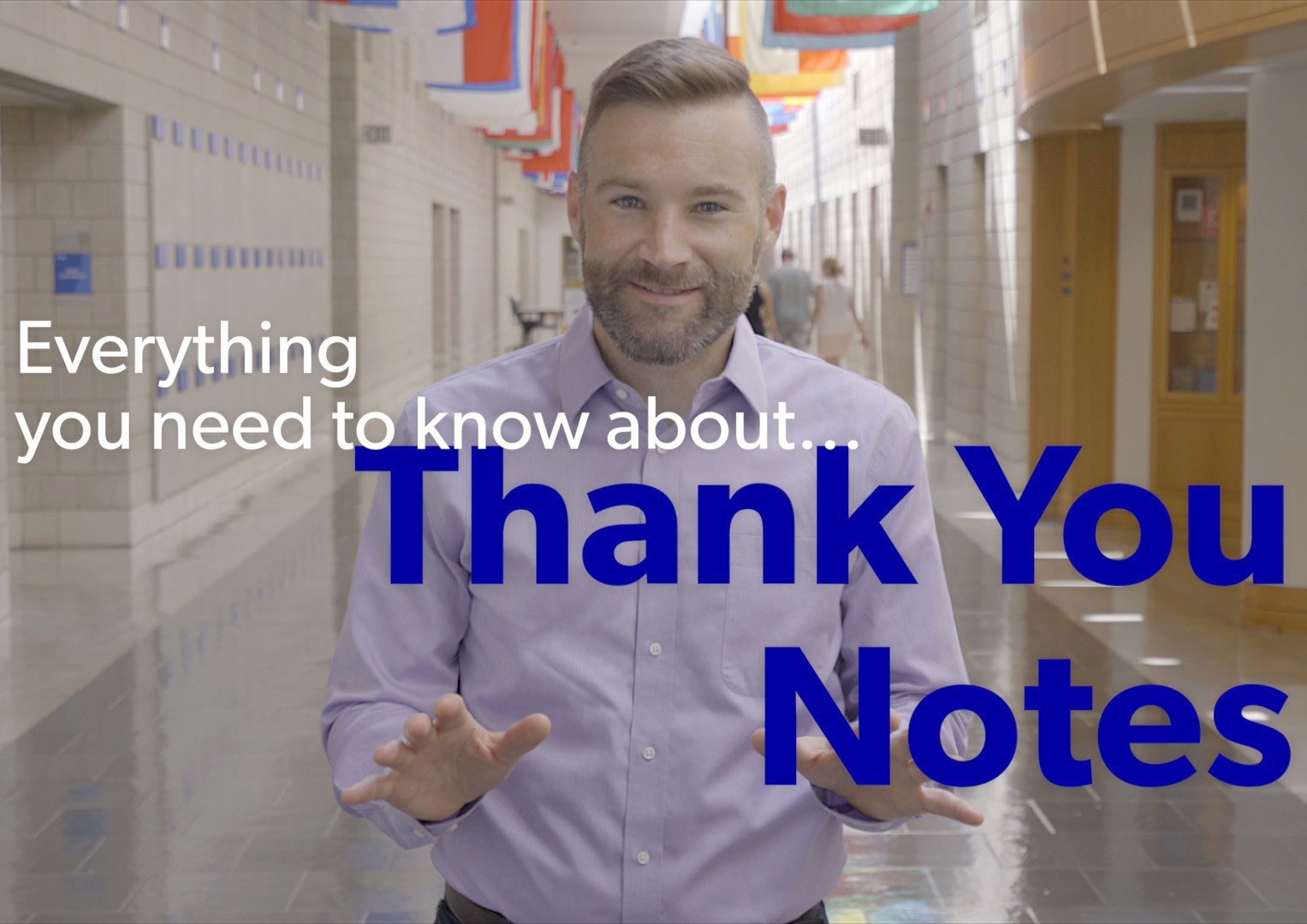Steve Dalton, Program Director of Daytime Career Services at Duke's Fuqua School of Business, tells you everything you need to know about thank you notes.
